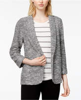 Maison Jules Linen Knit Jacket, Created for Macy's