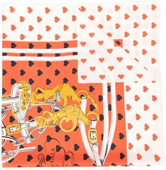 Hermes Pre-Owned Printed Scarf