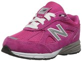 New Balance KV990 Infant Running Shoe (Infant/Toddler), Pink/Pink, 9 W US Toddler