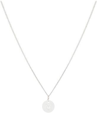 Tesori Bellini Zodiac 1.2 Necklace, Taurus: Silver
