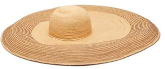 Lola Hats Spinner Raffia Hat - Womens - Beige
