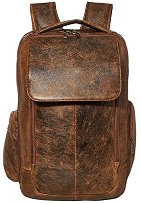 Scully Squadron Laptop Backpack (Antique Brown) Backpack Bags