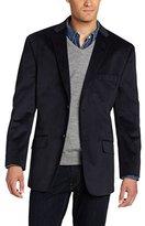 Haggar Men's Solid Velvet Sport Coat