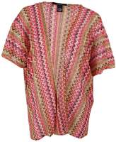 Cejon Thats So 70s Women's Zigzag Knit Cover Up