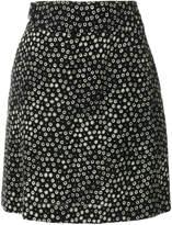 A.P.C. floral print skirt