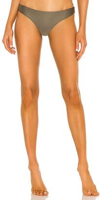 PQ Basic Ruched Teeny Bikini Bottom