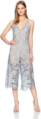 Dress the Population Women's Marion Lace Jumpsuit