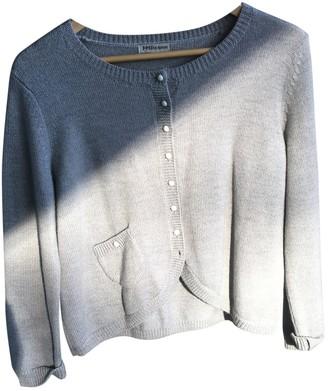 J&M Davidson J & M Davidson Grey Wool Knitwear for Women