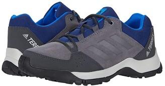 adidas Outdoor Kids Terrex Hyperhiker Low Leather (Little Kid/Big Kid) (Grey Five/Grey Five/Tech Indigo) Boy's Shoes