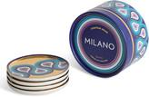 Jonathan Adler Milano Coasters, Set of 4