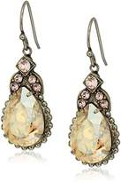 Sorrelli Satin Blush Decorative Deco Drop Earrings