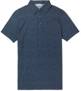 Richard James Printed Cotton-Jersey Polo Shirt