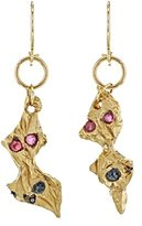 Imogen Belfield 9 ct Yellow Gold Double Dangle Star Earrings