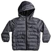 Quiksilver Toddler Boy's Scaly Water-Resistant Hooded Puffer Jacket