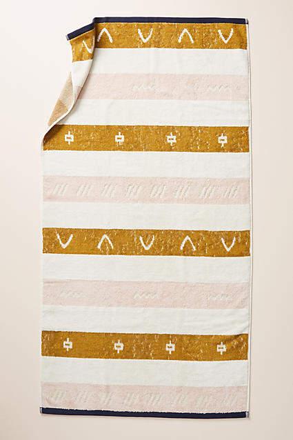 Anthropologie Isla Bath Towel Collection