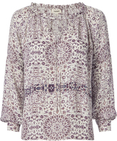L'Agence Crawford Billow Sleeve Blouse