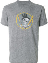 John Varvatos skeleton print T-shirt