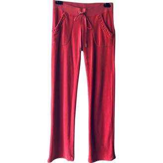 Juicy Couture Cotton Trousers for Women