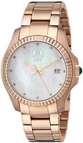 Jivago Women's JV3213W Analog Display Swiss Quartz Rose Gold Watch