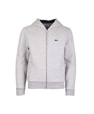 Lacoste Sport Classic Zip Through Hoody Colour: BLACK, Size: Age 10