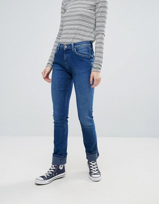 Pepe Jeans Victoria Skinny Jeans-Blue