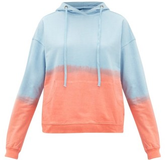Arizona Love Alexa Tie-dye Cotton Hooded Sweatshirt - Blue Print