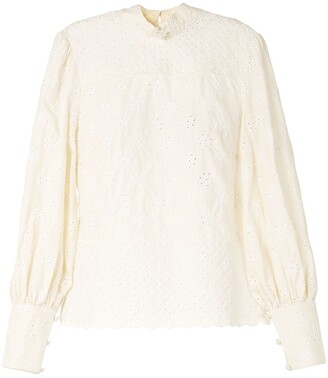 Alice McCall Angels mock neck blouse