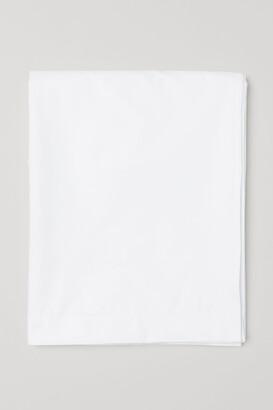 H&M Cotton Percale Flat Sheet