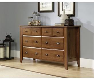 Gracie Oaks Bopp 6 Drawer Double Dresser Color: Oiled Oak
