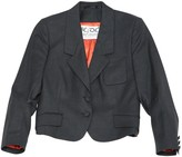 JC de CASTELBAJAC Anthracite Wool Jacket for Women