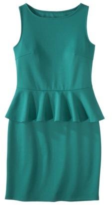 Mossimo Petites Ponte Peplum Sleeveless Dress - Assorted Colors