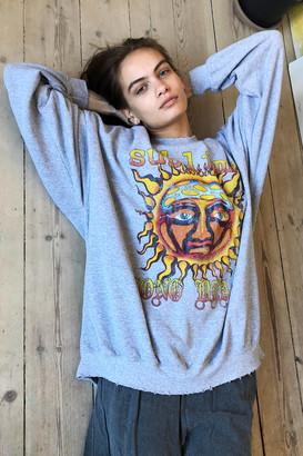 Sublime Sun Oversized Crew Neck Sweatshirt