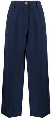 Etro Cropped Palazzo Trousers