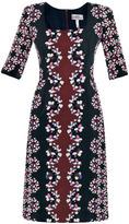 Erdem Sophia Visconti-bloom silk dress