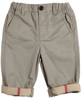Burberry Cotton Gabardine Trousers