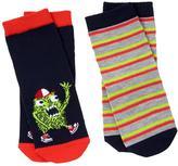 Gymboree Monster & Stripe Socks