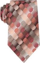 Van Heusen Geo Pattern Tie - Extra Long