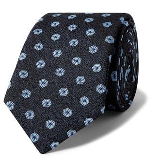 Dolce & Gabbana 7cm Embroidered Silk-Jacquard Tie