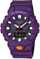 G-Shock Men's Analog-Digital Purple Resin Strap Watch 48.6mm