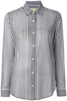 Michael Kors striped shirt - women - Polyester - M