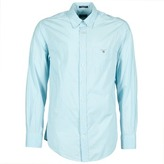 Gant THE SOLID POPLIN Blue