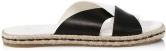 Joie Rafi Colorblock Leather Espadrille Slides