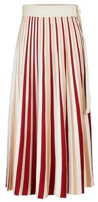 MONCLER GENIUS 2 Moncler 1952 - pleated midi skirt