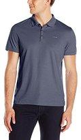 Calvin Klein Men's Liquid Cotton Solid Polo Shirt with Pocket