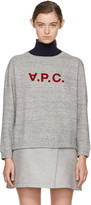 A.P.C. Grey Ethel Sweatshirt