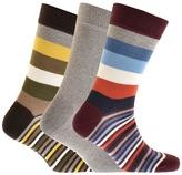 Barbour 3 Pack Heywood Socks Grey