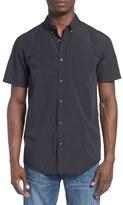 Quiksilver Men's 'Everyday Wilsden' Stripe Short Sleeve Woven Shirt
