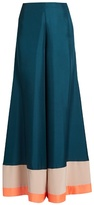 Roksanda Oldridge wide-leg satin-twill trousers