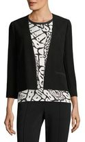 Yigal Azrouel Pleated Back Blazer