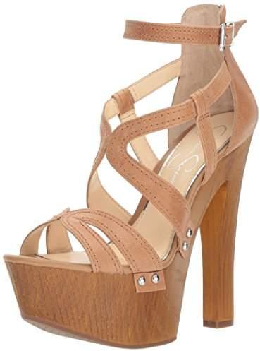 Jessica Simpson Women's DORRIN Heeled Sandal 10 Medium US